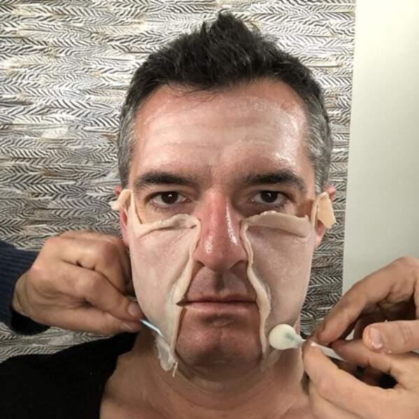 Transformation en cours pour Arnaud Ducret.