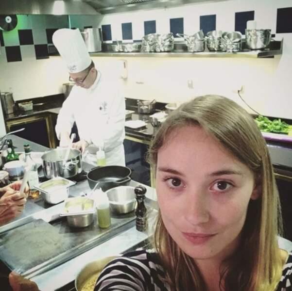 Ou dans la cuisine du Ritz, comme Déborah François et Ratatouille.