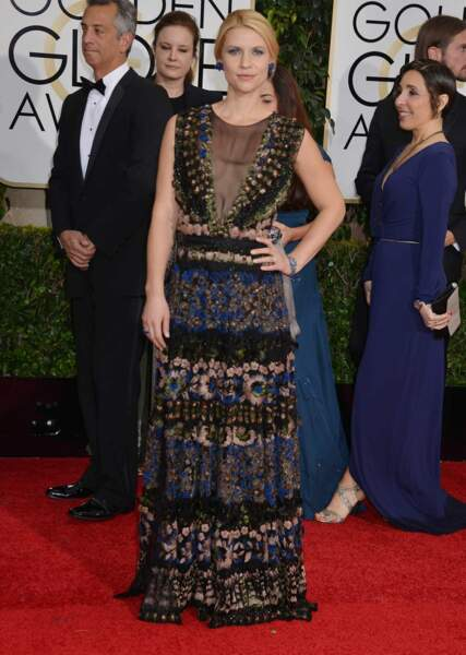 ... a foulé le tapis rouge des Golden Globes non loin de Claire Danes (Homeland)