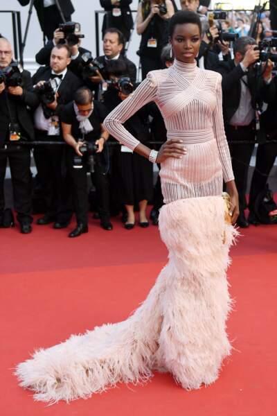 Et a même foulé le tapis rouge du 70e Festival de Cannes !
