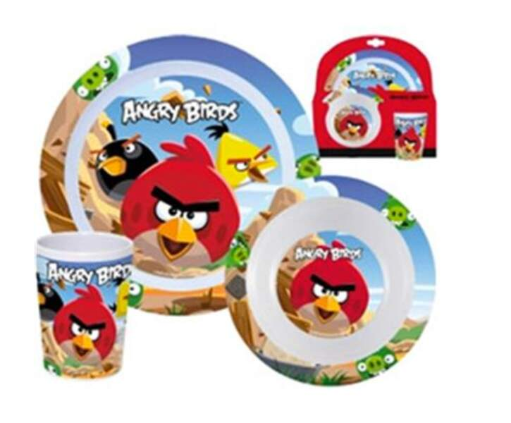 Set de petit-déjeuner Angry Birds