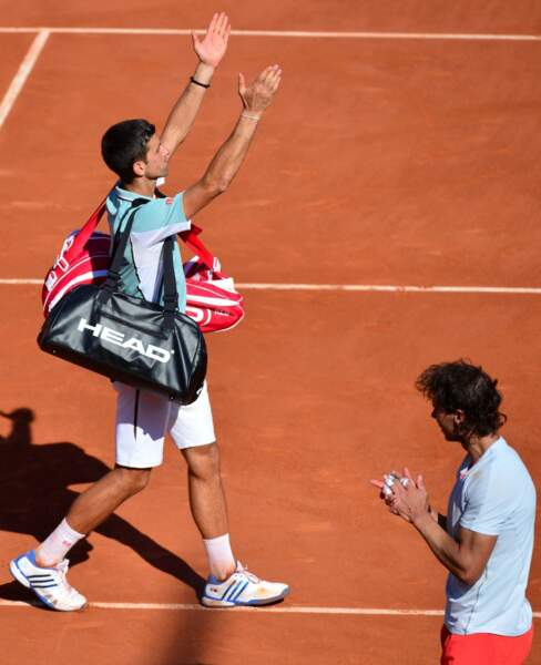 Le serbe Djokovic quitte le court la tête haute. Il s'est bien battu.