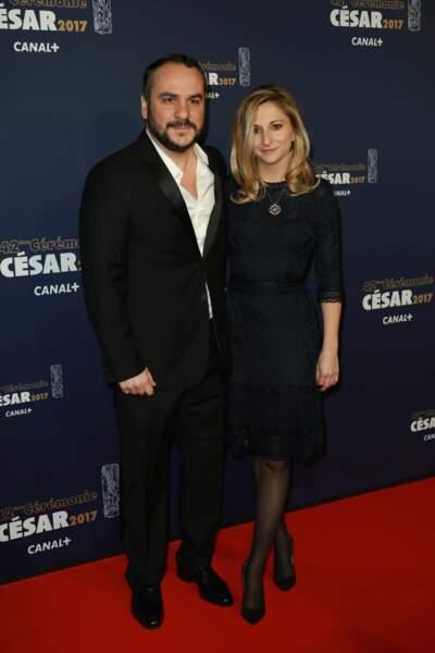 François-Xavier Demaison et son épouse