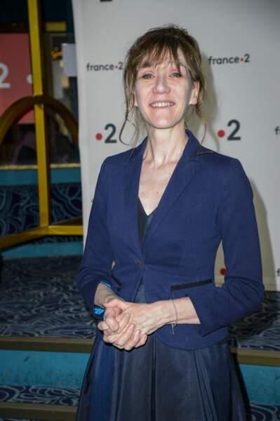 La comédienne et humoriste Virginie Lemoine