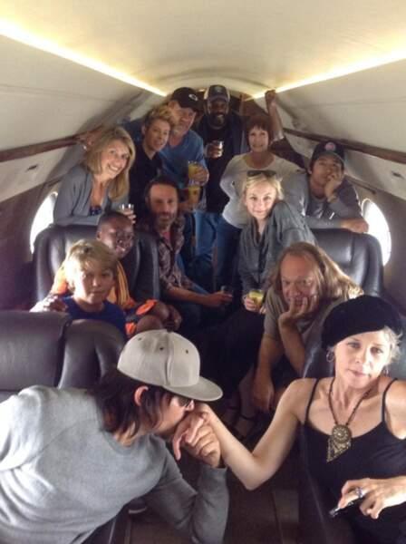 Pour aller de la prison au Terminus, le gang se déplace en avion privé.