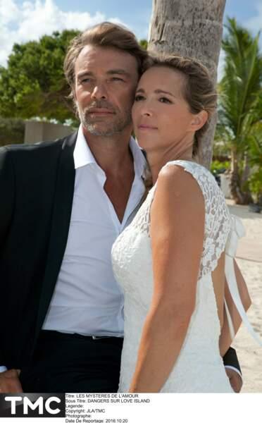 Et pour les nostalgiques des années 90, Hélène et Nicolas se sont mariés dans Les Mystères de l'amour