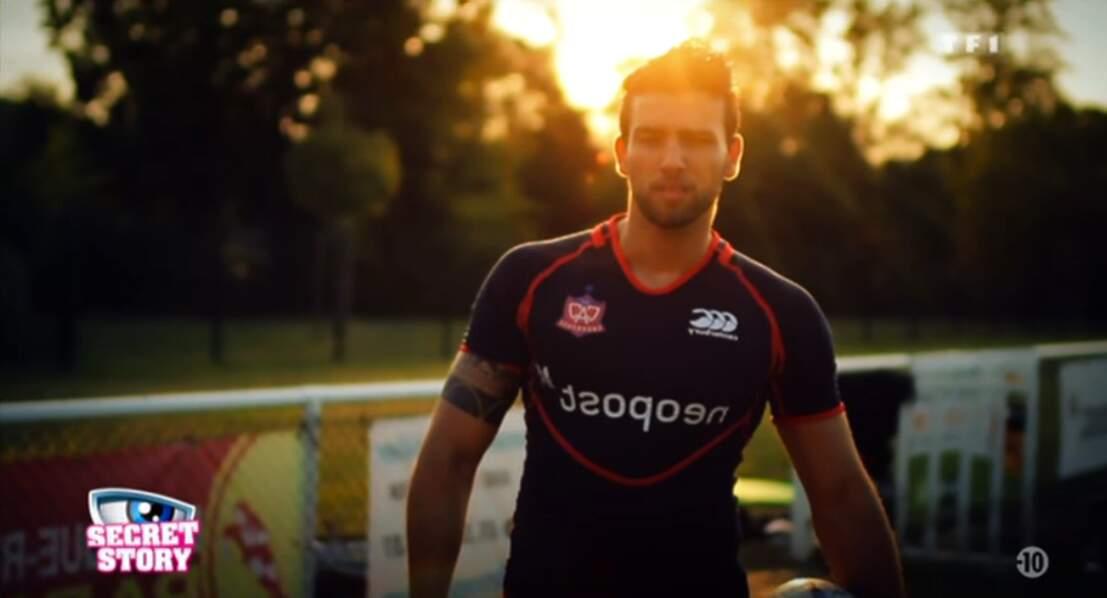 Voici Aymeric, un rugbyman chef d'entreprise...