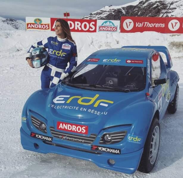 Laury Thilleman était à Val Thorens pour le Trophée Andros.