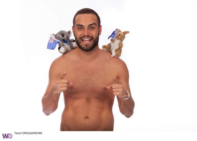 En guest cette saison : le charismatique Nikola Lozina et son humour belge !