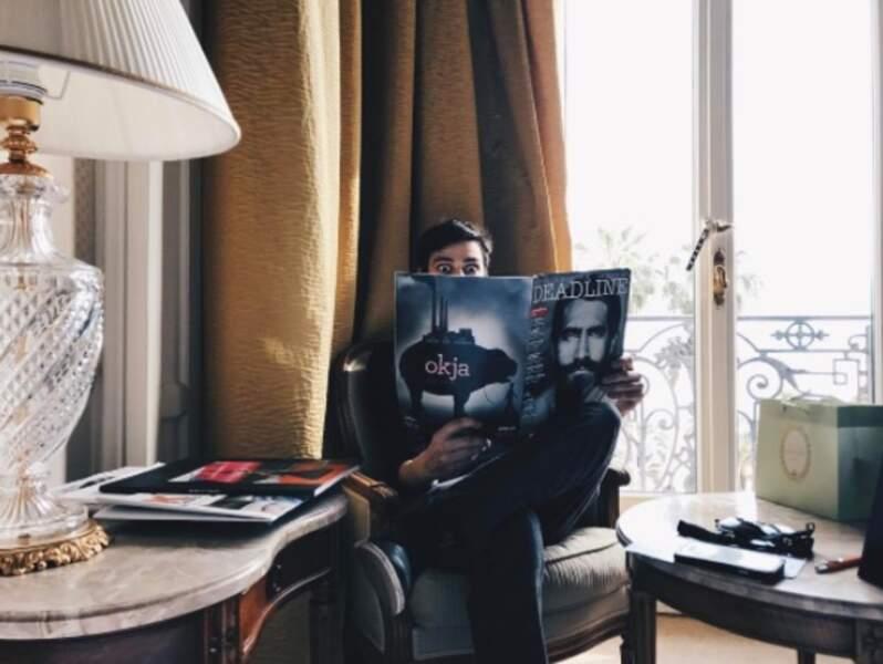 L'acteur Devon Bostick (série The 100) au casting du film Netflix Okja fait la promotion du long métrage