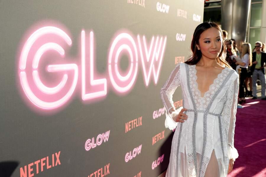 Sur les tapis rouges, la comédienne Ellen Wong a des goûts plus simples