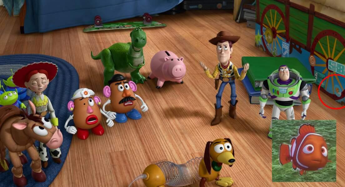Toy Story 3 : oh, oh, Nemo se promène encore par ici
