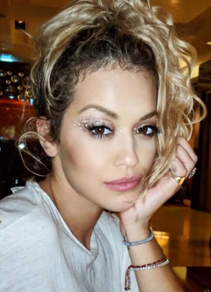 Et ce make-up de Rita Ora, il a pris combien d'heures ?