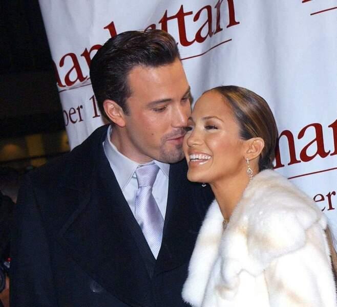 Ben Affleck et Jennifer Lopez ont eux aussi fait partie des couples glamour des années 2000 !