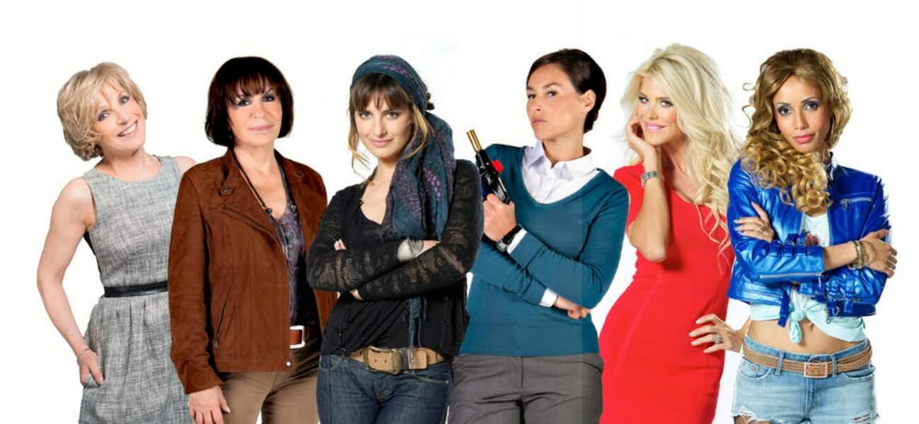 Evelyne Dhéliat, Danièle Evenou, Laëtitia Milot, Vanessa Demouy, Victoria Silvstedt et Sonia Rolland.