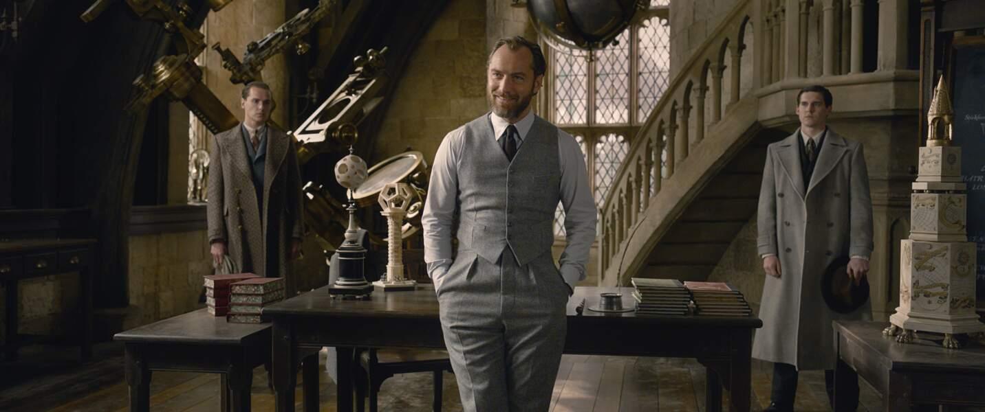Il semblerait que seul son ancien ami d'enfance Abus Dumbledore soit capable de l'arrêter