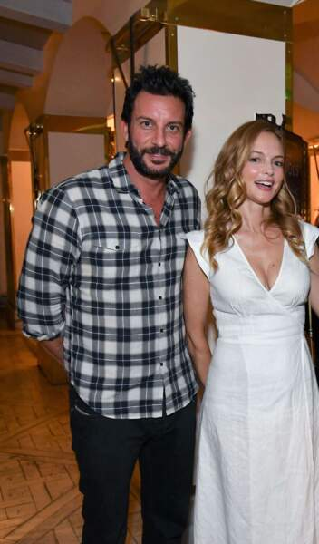L'actrice Heather Graham et le producteur Tommy Alastra.