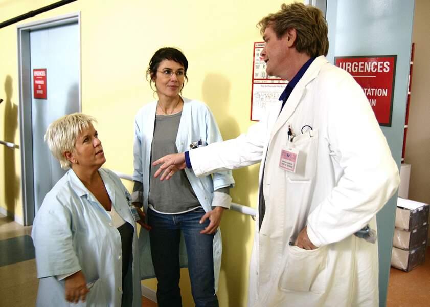 Mimie Mathy dans Baby Boom ? Non, elle joue une infirmière dans un épisode de la série