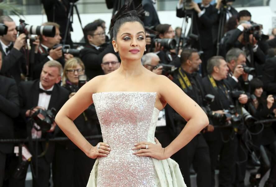 La magnifique actrice indienne Aishwarya Rai