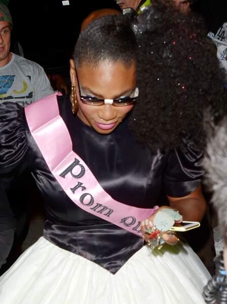 Un peu comme Serena Williams, reine de la promo.