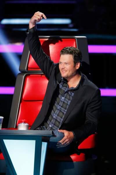 Blake Shelton a assuré cinq saisons de The Voice USA
