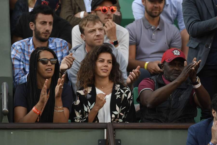 Noura El Shwekh, venue encourager son cher et tendre Jo-Wilfried Tsonga