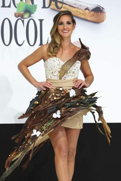 On commence avec cette très jolie robe portée par la journaliste sportive Marie Portolano