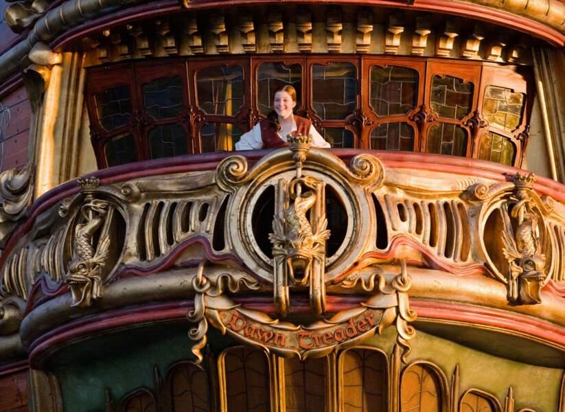 Le monde de Narnia, chapitre 3 (2010) : Un beau navire comme dans les rêves