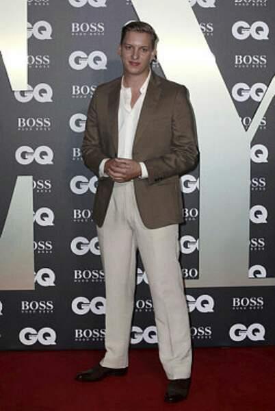 Le chanteur et musicien George Ezra