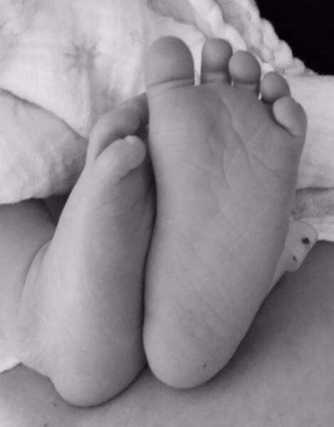 En avril 2015, le couple annonce la naissance de Fox William. Trop chou !