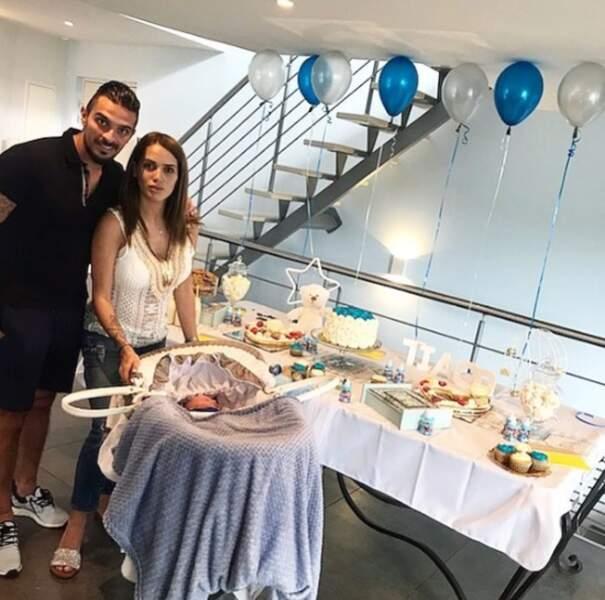 Peut-être qu'il organisera pour le bébé une fête, comme celle de Julien Tanti et Manon Marsault ?