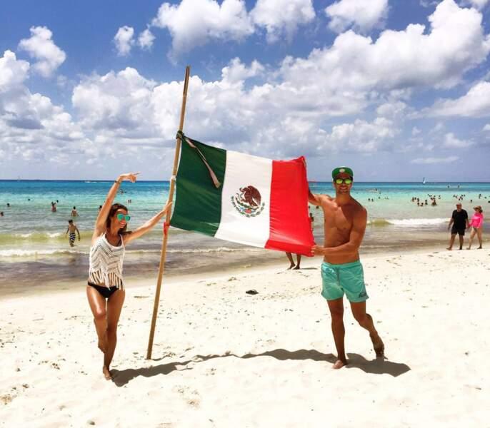 Emilie Nef Naf et Bruno Cerella au Mexique