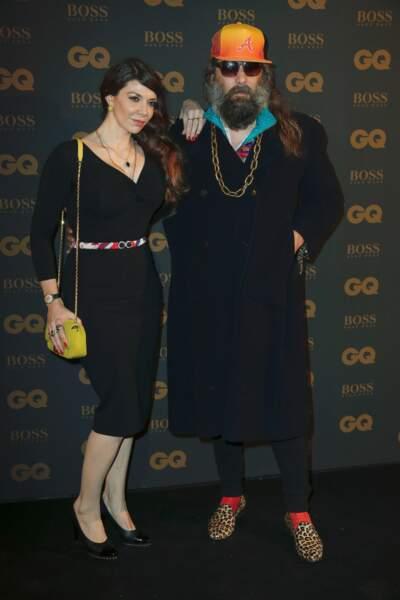 Sébastien Tellier et sa femme Amandine de la Richardière