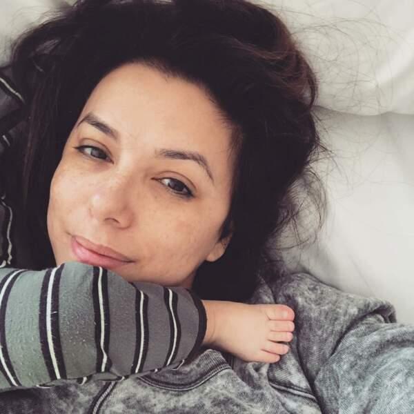 À la maison avec son fils Santiago, Eva Longoria se dévoile tel qu'elle est