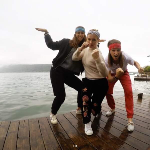 Mathilde, Kelly et Clémentine se sont retrouvées pour un week-end entre filles !