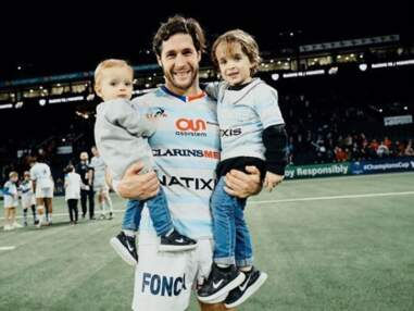 Amour, vie de famille et muscles saillants... les plus belles photos Instagram du rugbyman Maxime Machenaud !