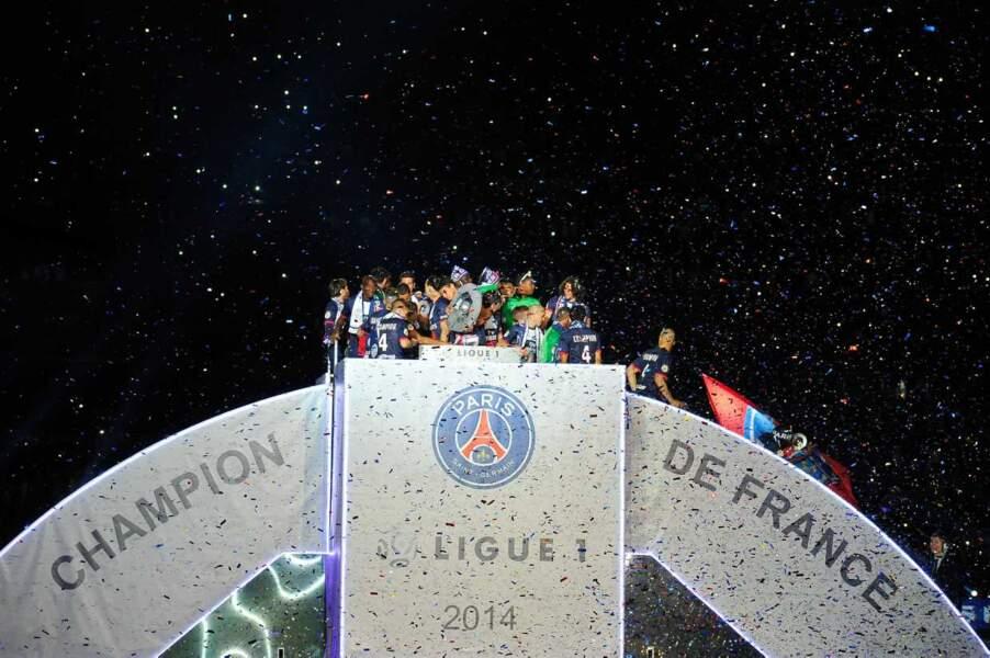 Au cas où on ne l'aurait pas encore compris : le PSG est champion de France !