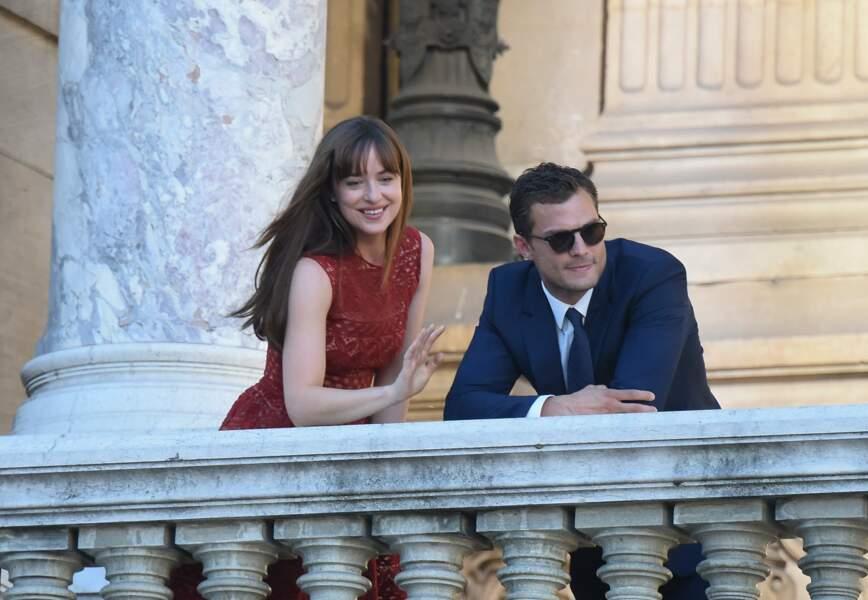 Le 18 juillet, Dakota Johnson et Jamie Dornan ont posé leurs valises à Paris pour tourner la suite de 50 Nuances