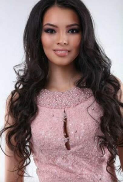 Miss Kazakhstan, Aliya MERGEMBAYERA