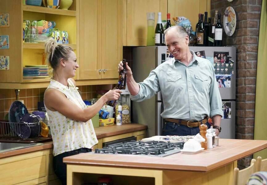Le comédien Keith Carradine joue le père de Penny (Kaley Cuoco) dans The Big Bang Theory