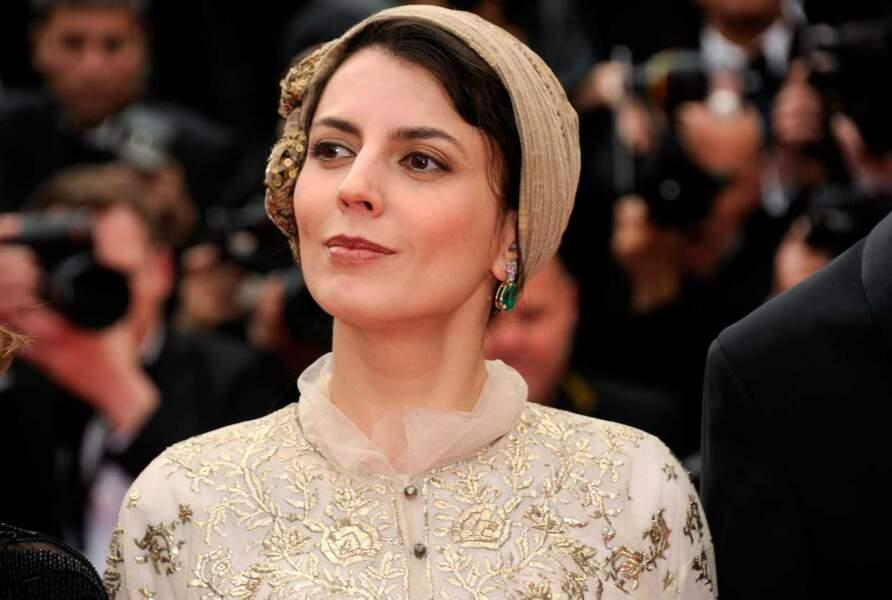 L'actrice iranienne Leila Hatami, membre du jury.