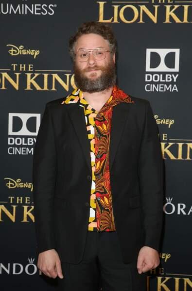 Seth Rogen, alias la voix de Pumbaa
