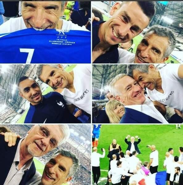 L'équipe de France s'est trouvé un nouveau membre : Nagui !