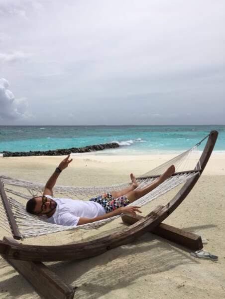 Et Karim Benzema a choisi le paradis à défaut de l'Euro 2016.