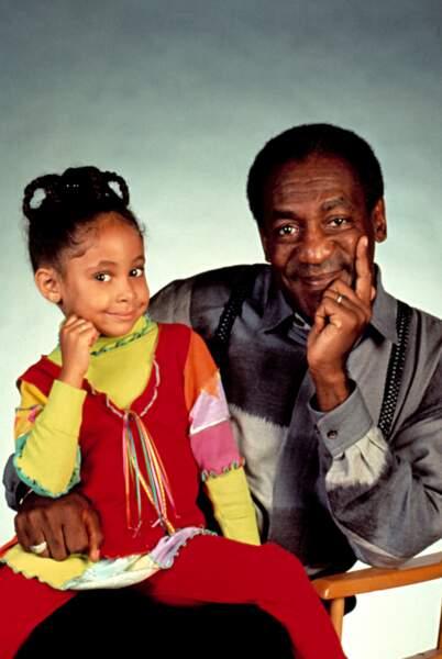 Raven-Symoné est Olivia dans Cosby Show aux côtés de Bill Cosby