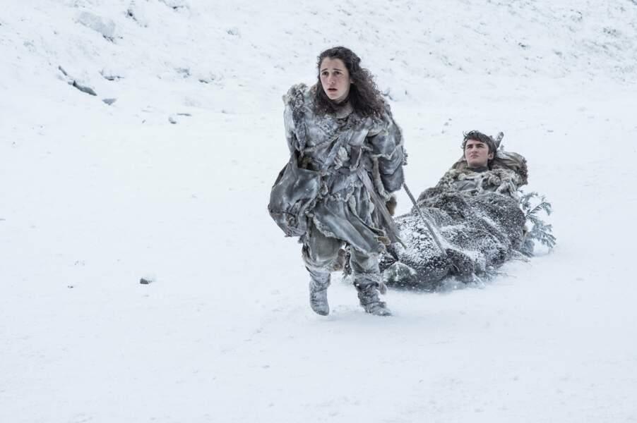 Les fans s'interrogent aussi sur le sort de Bran Stark et de Meera