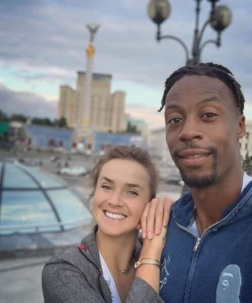 Elina Svitolina possède également un compte Instagram en commun avec son chéri, Gaël Monfils