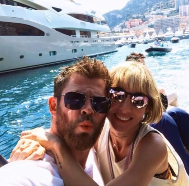 Idem pour Chris Hemsworth et Elsa Pataky.