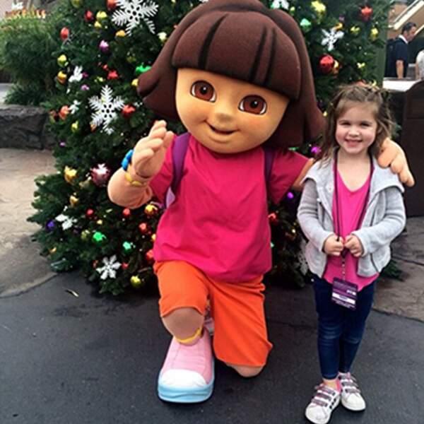 La vie parfaite de Tiffani Thiessen : Sa fille est aussi la BFF de Dora