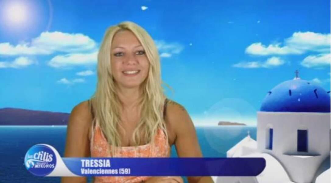 Tressia a été révélée dans Les Ch'tis de W9